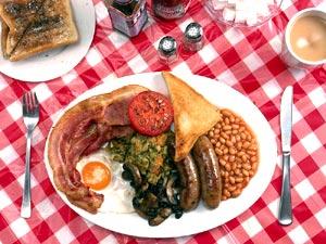 けさじはんの朝食