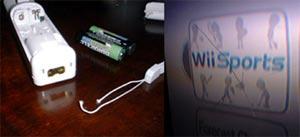 Wiiリモコンが手から離れて物を壊した